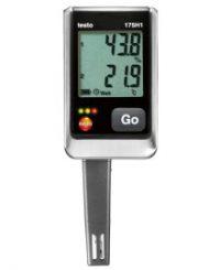testo 175 H1 - Логгер данных температуры и влажности с интегрированным внешним зондом