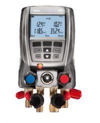 Комплект Testo 570-1 - Цифровой манометрический коллектор (0563 5701)