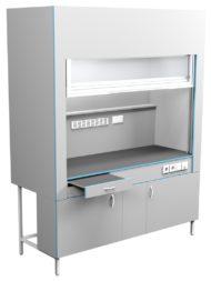 Шкаф вытяжной без сантехники ШВ НВК 1800 ПП (1800x716x2200)