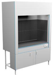 Шкаф вытяжной для муфельных печей ШВ НВп 1600