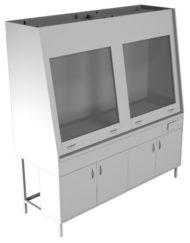Вытяжной шкаф двухрамный НВ-1800 ШВд-Б(1800*700*1960)