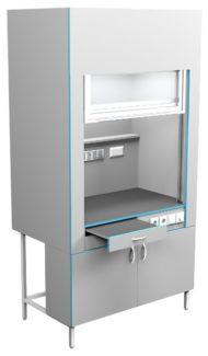 Шкаф вытяжной без сантехники ШВ НВК 1200 ПЛАСТ