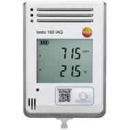 testo 160 IAQ – WiFi-логгер данных с дисплеем и встроенными сенсорами температуры, влажности, CO2 и атмосферного давления (0572 2014)