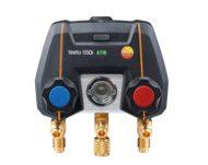 testo 550i — Цифровой манометрический коллектор с 2-х ходовым блоком клапанов и Bluetooth, управляемый через приложение (0564 2550)